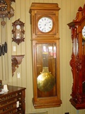 Large pinwheel jewelers regulator clock-EXCELLENT
